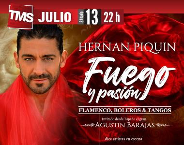 HERNAN PIQUIN - FUEGO Y PASION