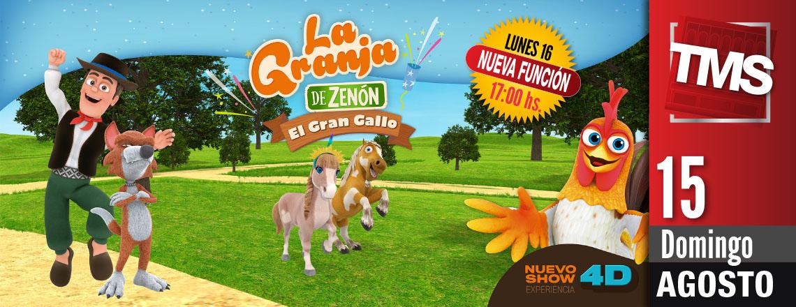 LA GRANJA DE ZENON - El Gran Gallo