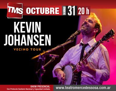 KEVIN JOHANSEN - Vecino Tour
