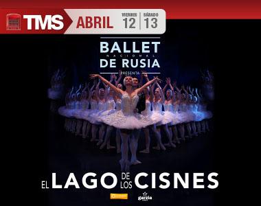 BALLET NACIONAL DE RUSIA                                     El Lago de los Cisnes