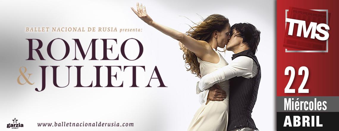 """BALLET NACIONAL DE RUSIA - """"Romeo & Julieta"""""""